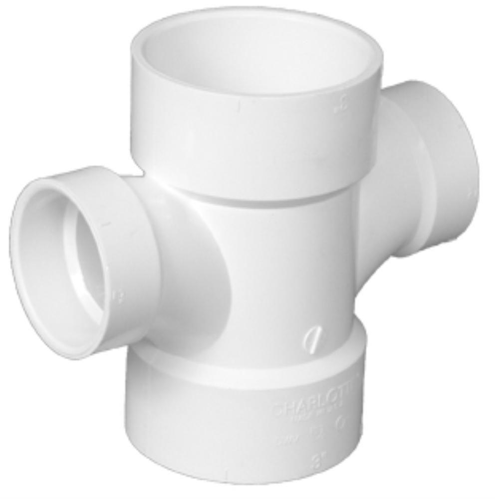 PVC Double Tee Reducing PVC Fitting Altium Supply Co.