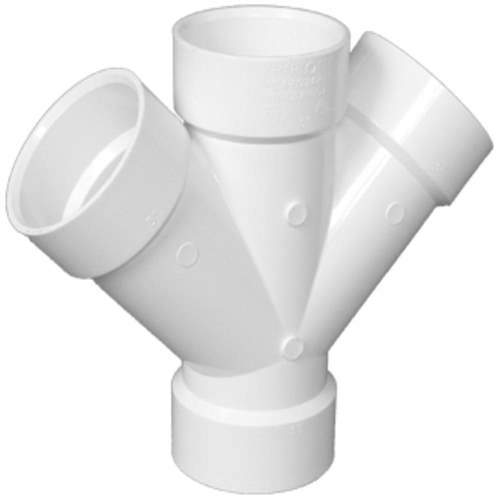 PVC Double Wye PVC Fitting Altium Supply Co.