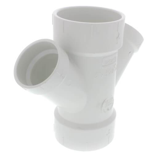 PVC Double Wye Reducing PVC Fitting Altium Supply Co.