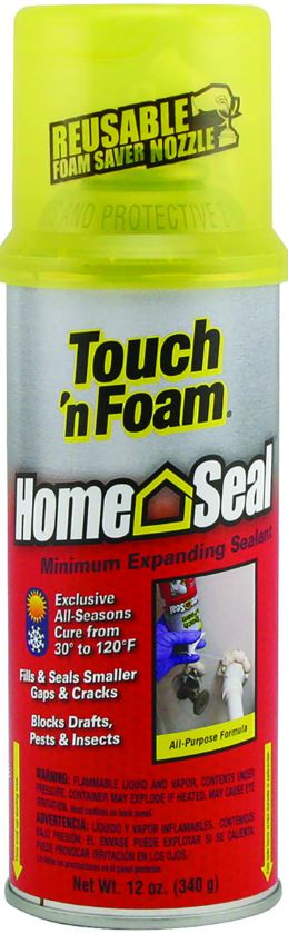 Touch'N Foam 12 oz. Home-Seal Sealant Caulking & Sealants Dap