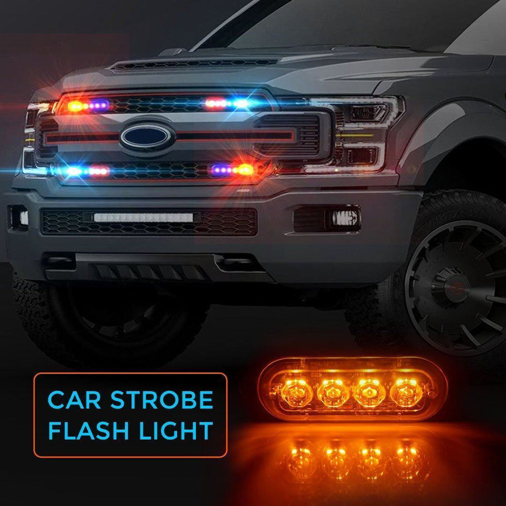 (Buy 4 Free Shipping)6LED Car Strobe Flash Lights-Today's Special $ 9.98