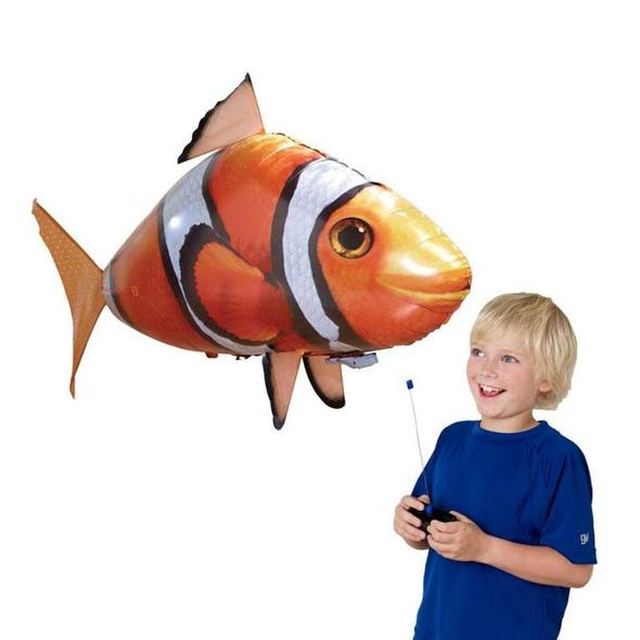 Inflatable RC Air Swimmer Remote Control Flying Shark Clownfish(Buy 2,Free shipping)