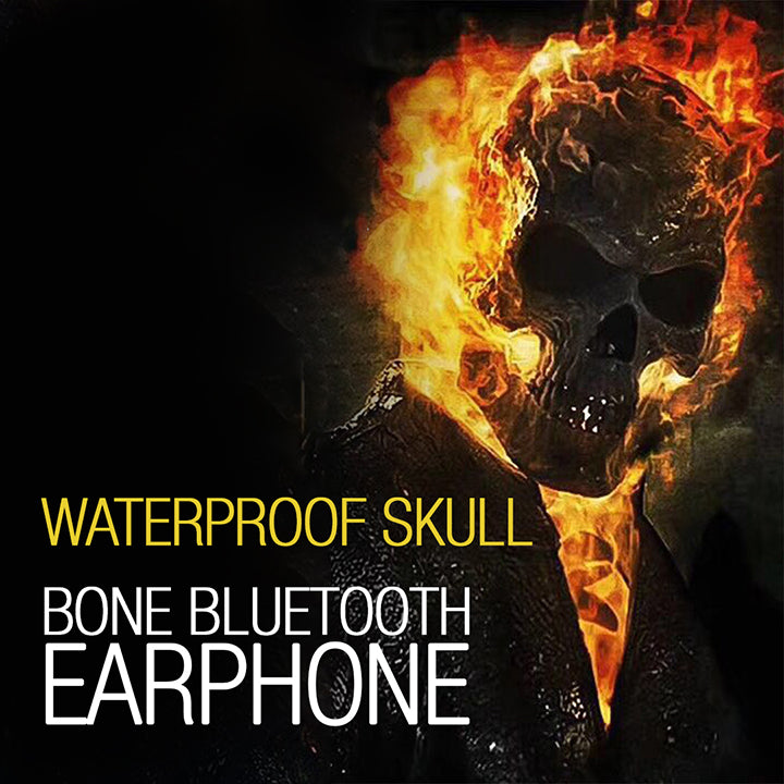 Waterproof Skull Bone Bluetooth Earphone (Up to 50% OFF)
