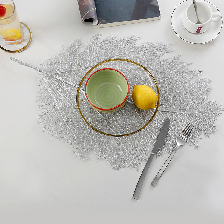 Leaf placemat(Buy Two  FREE Shipping)