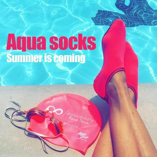 "<div style=""color : red""><b><div style=""font-size : 20px"">(Last Day Promotion 60% OFF) Womens and Mens Water Shoes Barefoot Quick-Dry Aqua Socks</div></b></div>"