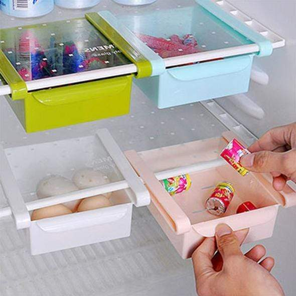 Refrigerator Pull Out Storage Drawers (buy 4 get free shopping)
