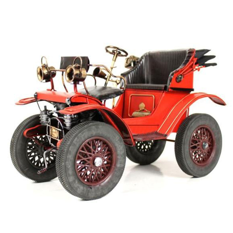 Handmade Antique Tin Model Car-1893 Mercedes Benz