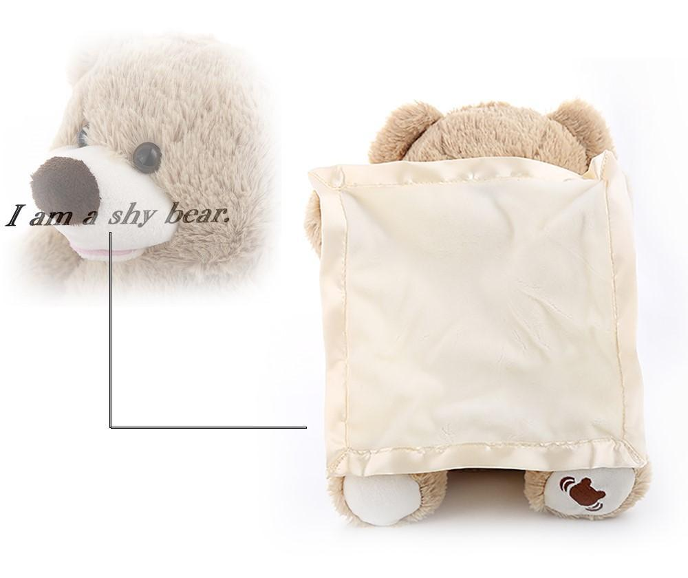 Peek-A-Boo Plush Bear