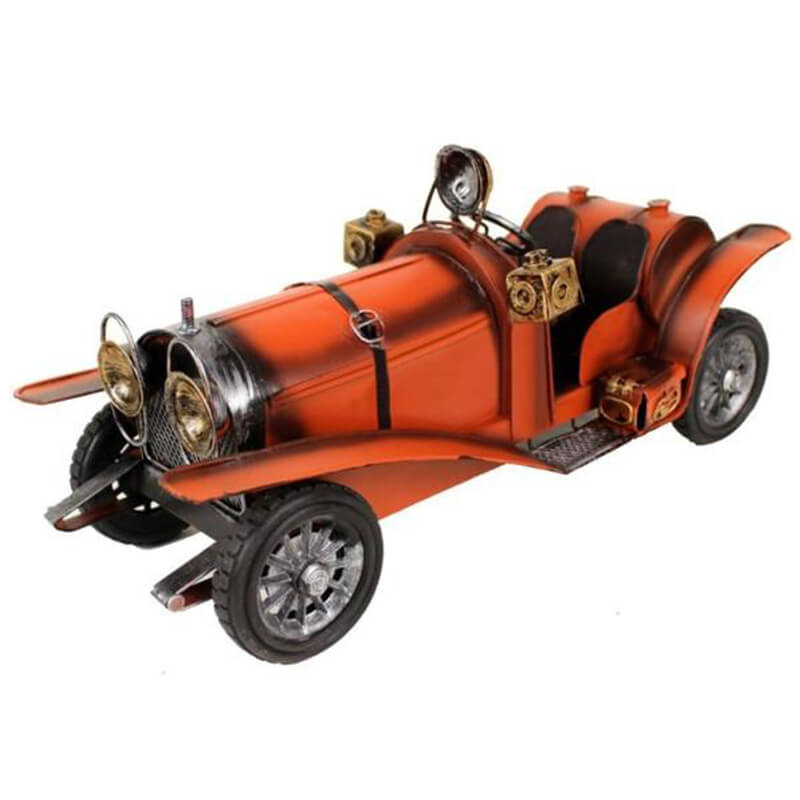 Handmade Antique Tin Model Car-1935 Mercedes Benz