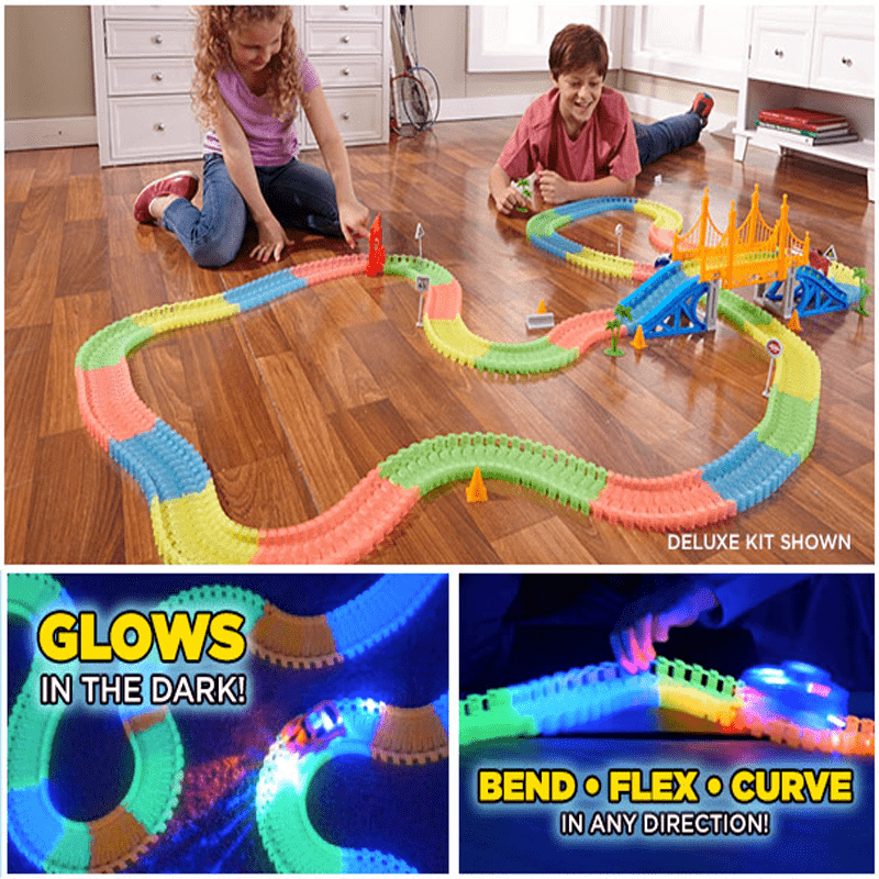 165 Pcs Glowing Race Tracks