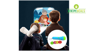 Kids Story Time Flashlight Projector(BUY 2 GET FREE SHIPPING)