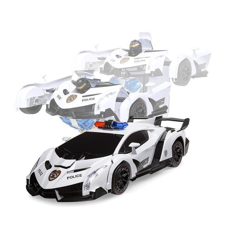 Best Choice Gift Toy For Kid With Beautiful Gift Pack RC Transformer Car