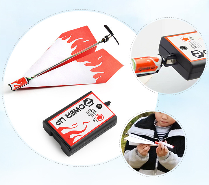 Electric Hand Throwing Paper Airplane Model