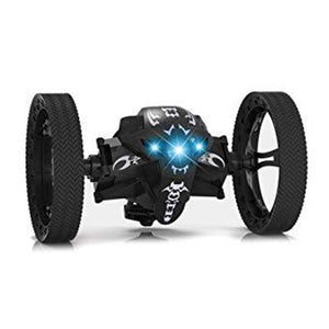 2.4G Remote Control Mini Bounce Car, Jumping Car, RC Bounce Jumping Sumo Car Mini Car Toy Car with 2 Second Rotation and LED Night Lights Bounce RC Toy