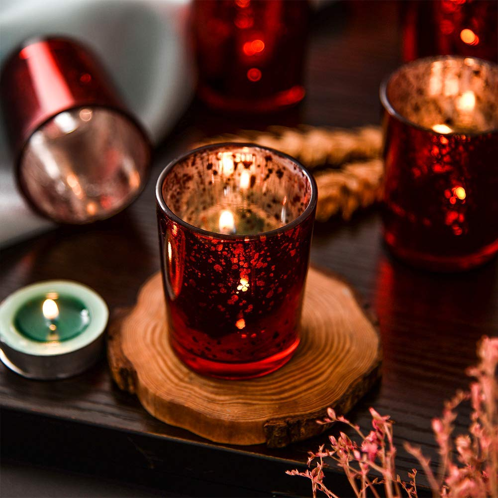 Glass Candle Holders Cup