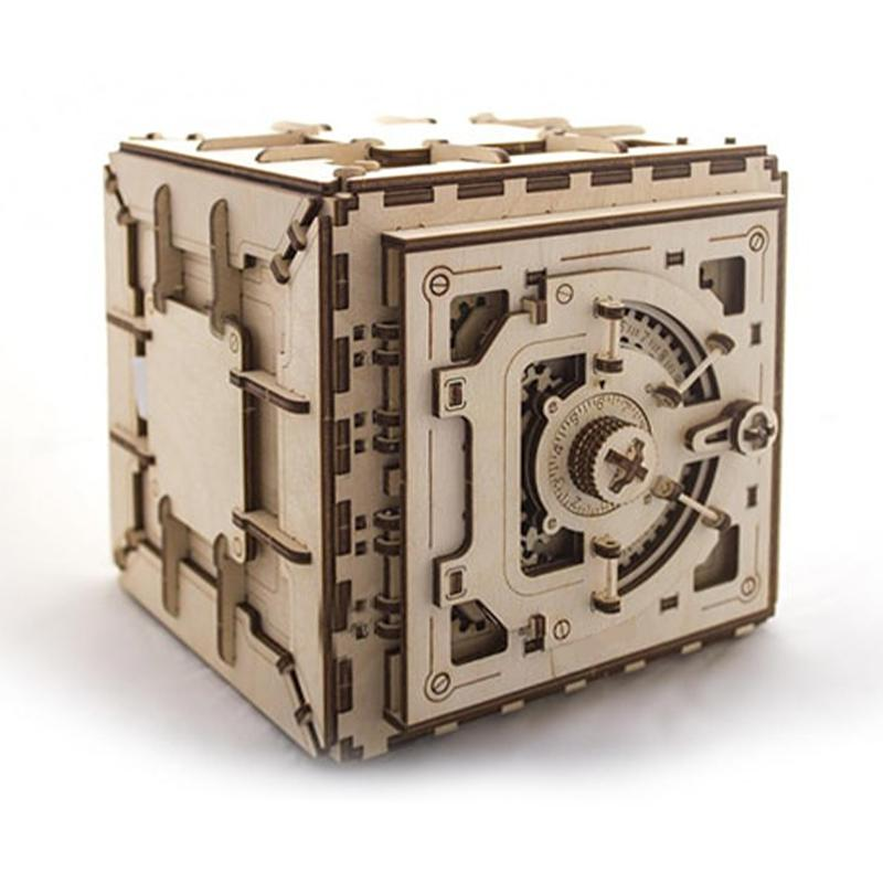 3-D Wooden Puzzle - Password box