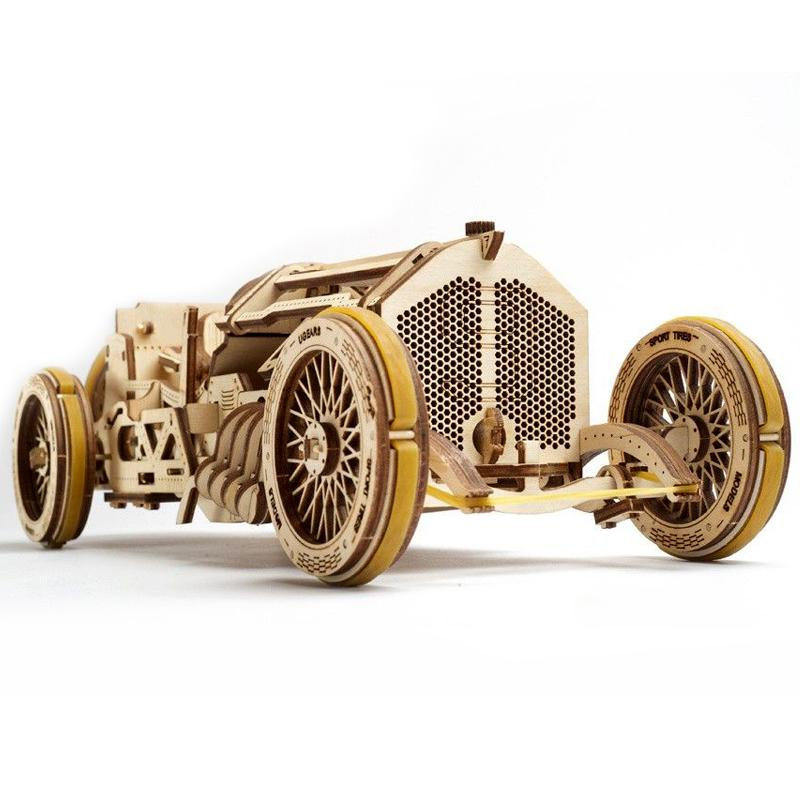 3-D Wooden Puzzle – Racing car