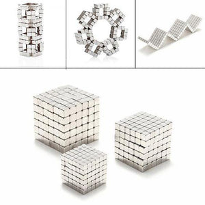 Enjoybay 216Pcs Magnetic Cube Blocks Magic Puzzle Toys Relieve Anxiety Autism ADHD Puzzles Magic Cube Educational Toy for Kids