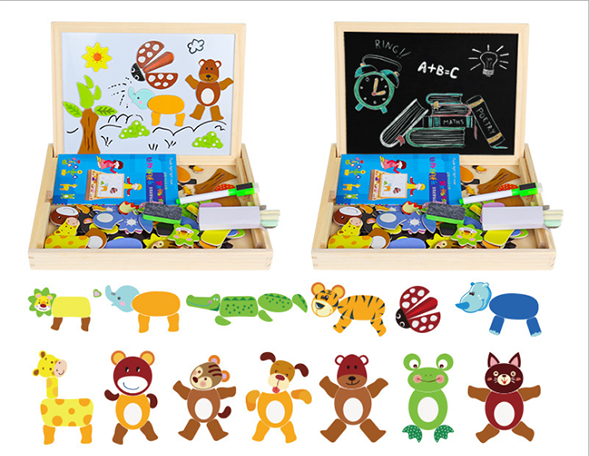 3D children's puzzle magnetic puzzle(buy two and get free shipping)
