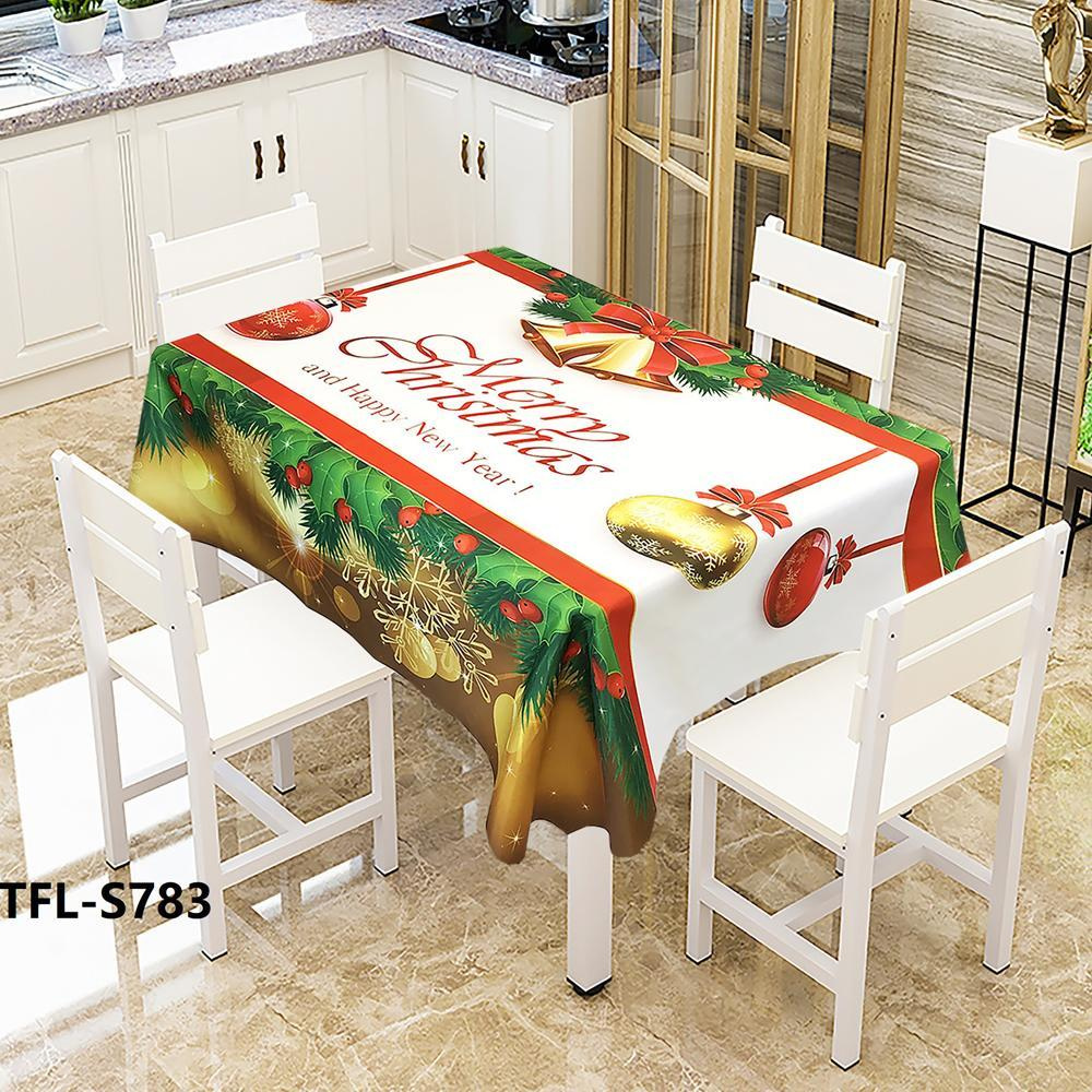 Creative Waterproof Christmas Tablecloth