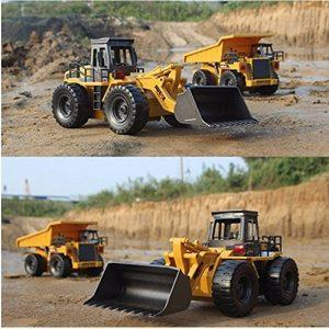 Remote bulldozer