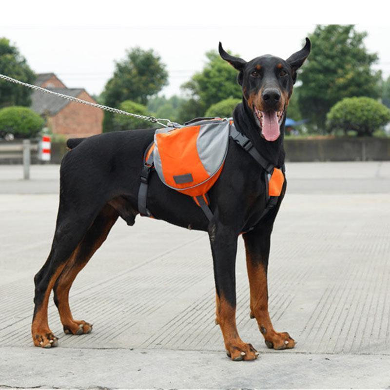 Inspire Uplift BriteDoggy Outdoor Dog Backpack Orange / Small BriteDoggy Outdoor Dog Backpack