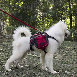 Inspire Uplift BriteDoggy Outdoor Dog Backpack Red / Small BriteDoggy Outdoor Dog Backpack