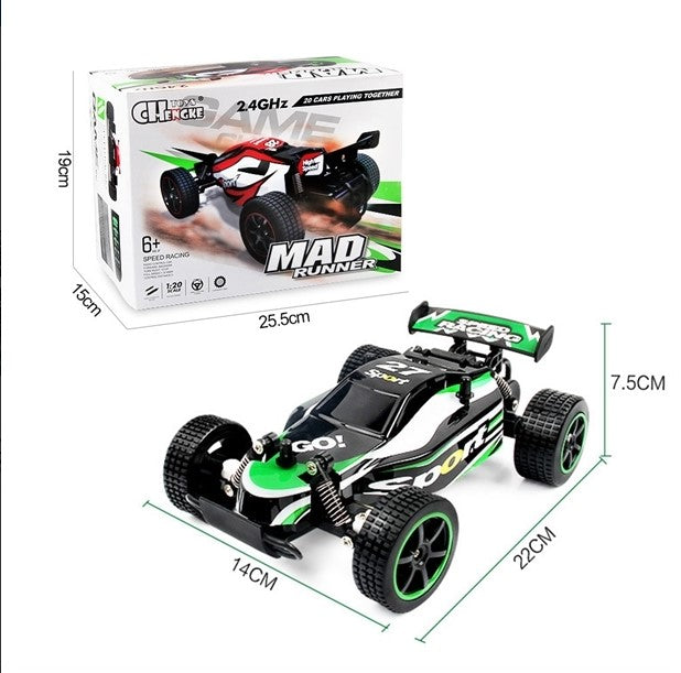 1/20 High Speed RC Racing Drift Car Wave Drive Truck Electric Off-Road Vehicle Toys RTR 2.4G