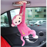 Car Home Hanging Monkey Pippi Tissue Holder (Funniest Christmas Gift Idea)