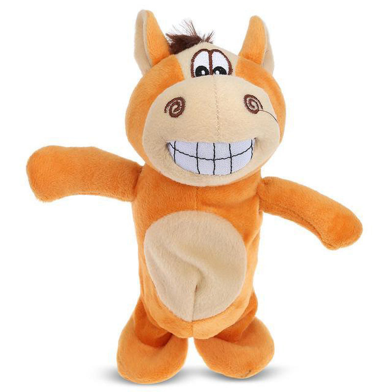 ELECTRONIC TALKING DONKEY PLUSH TOY