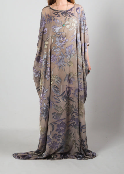 Sheer Burnout Caftan