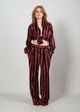 ESCADA Silk Blouse + Wool Trouser Set