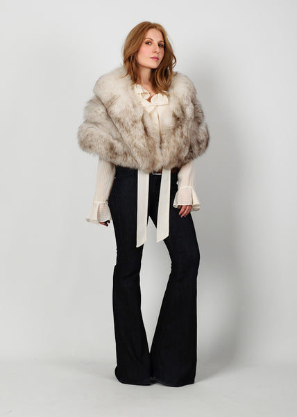 Fox Fur Cape