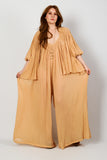 Deadstock Gauze Jumpsuit Set