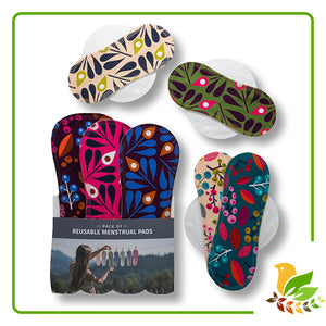 1 x 7-pack Reusable Sanitary Pads