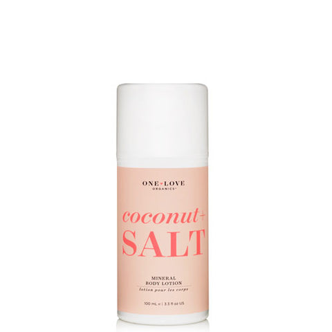One Love Organics ~ Coconut + Salt Mineral Body Lotion