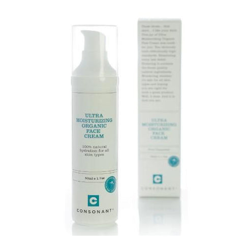 Consonant Ultra Moisturizing Organic Face Cream