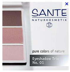SANTE Eye shadow trio