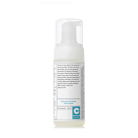Consonant Organic Foaming Face Wash-Unscented