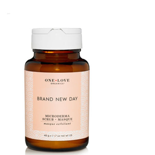 One Love Organics ~ Brand New Day ~ microderma scrub + masque