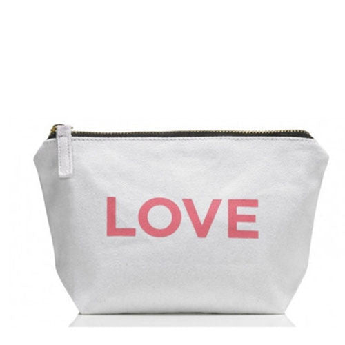 ONE Love Organics ~ Canvas Cosmetics Bag
