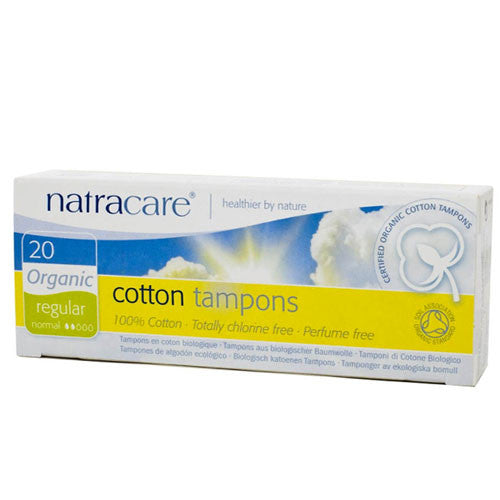 Organic Cotton Tampons -regular
