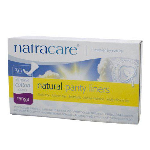 Organic Cotton Panty Liners - Thong