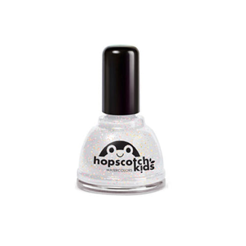 Hopscotch Top Coat with Glitter