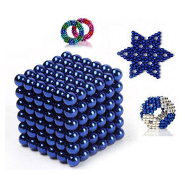 216 pcs 3mm Magnet Toy Magnetic Balls Building Blocks Super Strong Rare-Earth Magnets Neodymium Magnet Stress and Office Desk Toys DIY Kid / Adults