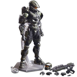 26cm Play Arts KAI HALO 5 Guardians No.1 Master Chief PVC Action Figure Collectible Model Toy
