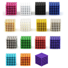 216pcs 3mm Magnetic Balls Building Blocks Magnets Neodymium Magnet Stress and Anxiety Relief Office Desk Toys