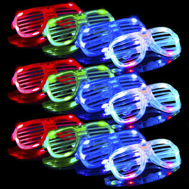 12pcs Light Up Glasses, Glow in The Dark LED Glasses Party Supplies Party Favors Shutter Shades Accessories