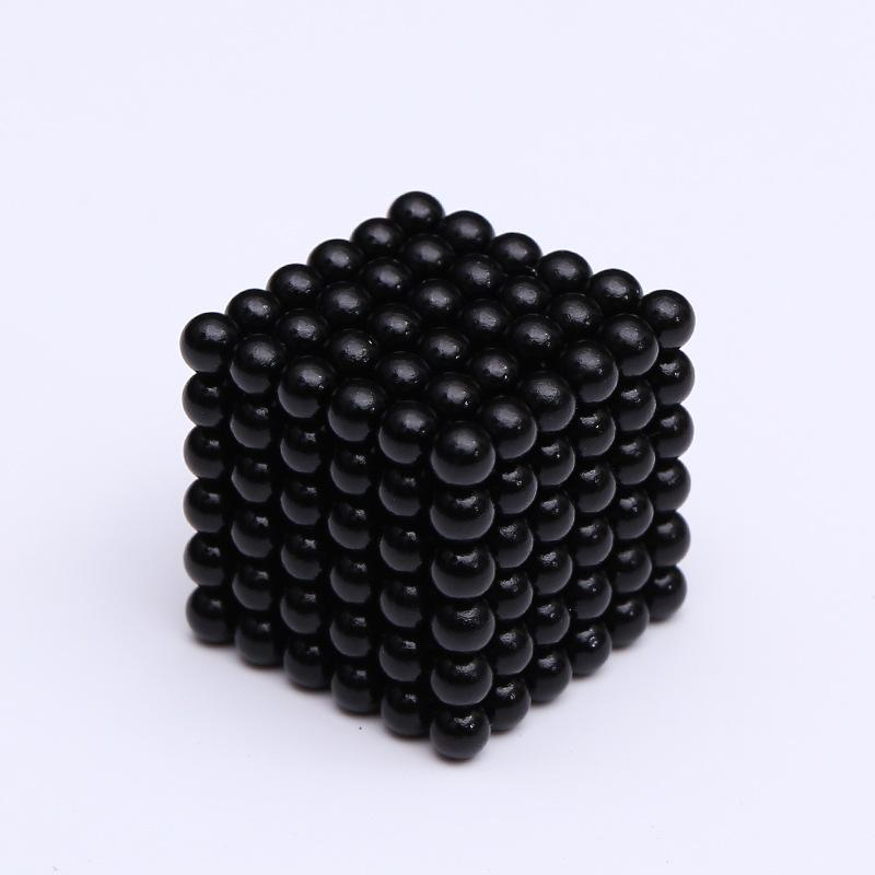 3MM 1000 Pieces Magnetic Ball Set Magnet Toy for Children & Office Stress Relief Silver