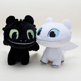 15cm White Toothless How to Train Your Dragon 3 Plush Toy Night Fury Soft White Dragon Stuffed Animal Doll Toys